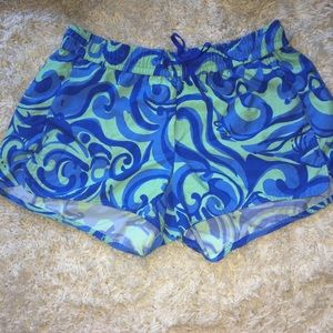 Lilly Pulitzer Luxletic Run Around Shorts Size XS